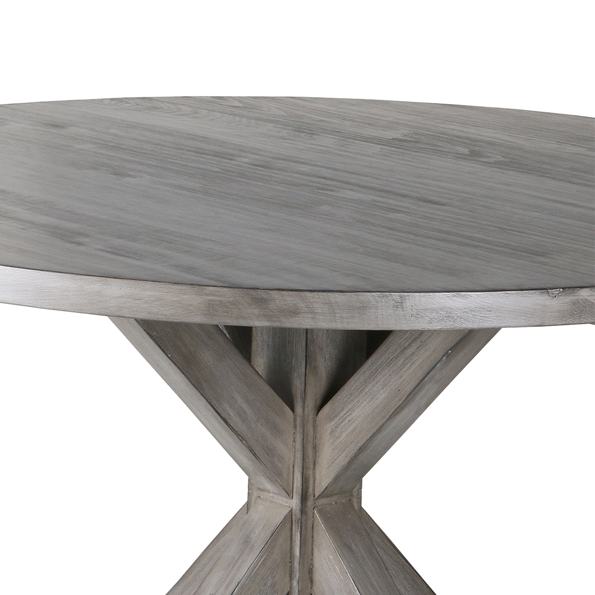 Frieda Reclaimed Wood Round Dining Table