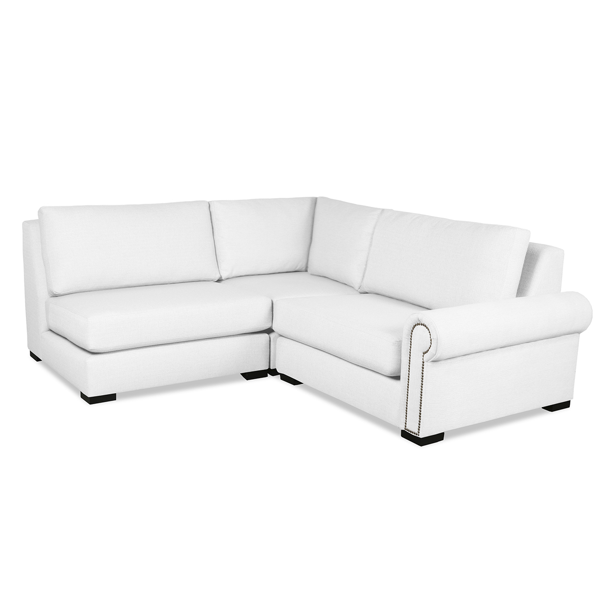 Lucile Modular Sectional Right And Left Arms L-Shape Mini