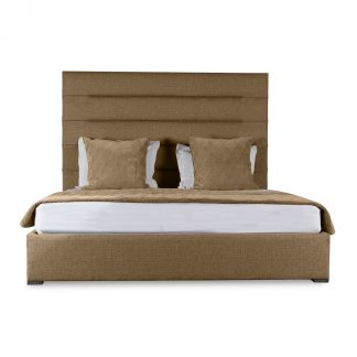 Audrey Horizontal Channel Tufting Height Bed