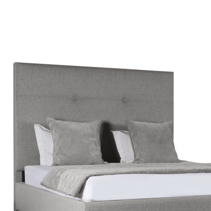 Audrey Simple Tufted Height Bed