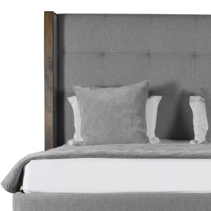 Claire Button Tufted Height Bed