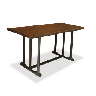Catalina Catalina Live Edge Counter or Bar Height Table