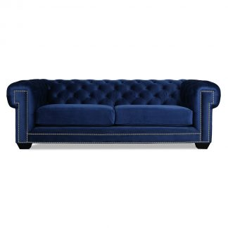 Chesterkool Chesterfield Velvet Sofa