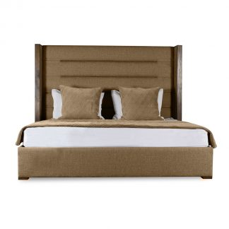 Claire Horizontal Channel Tufting Height Bed