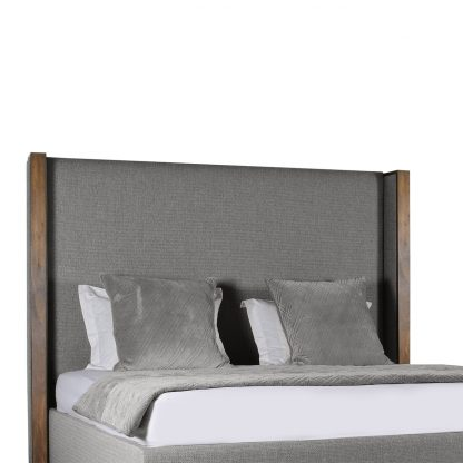 Claire Plain Upholstery Height Bed