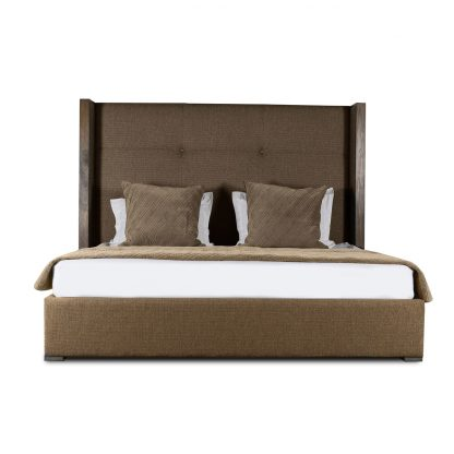 Claire Simple Tufted Height Bed