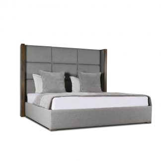 Claire Square Tufted Height Bed