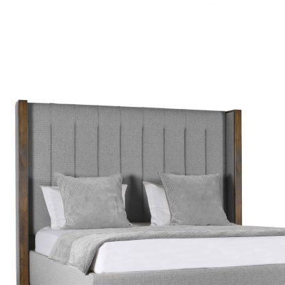 Claire Vertical Channel Tufting Height Bed