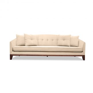 Lois Tufted Linen Sofa