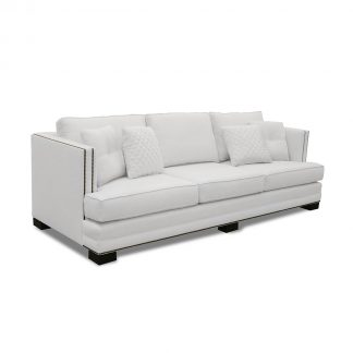 West Lux Linen Sofa