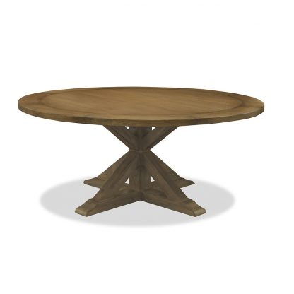 """Treasure Reclaimed Wood Round Dining Table 60"""""""