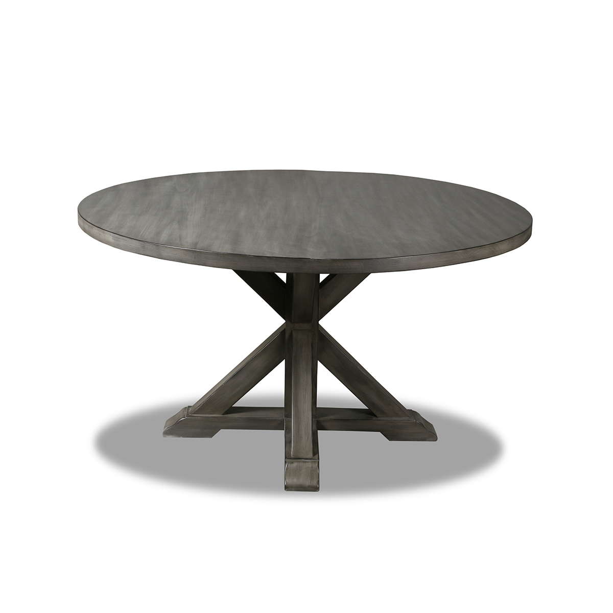 Frieda Reclaimed Wood Round Dining Table California Furniture Company