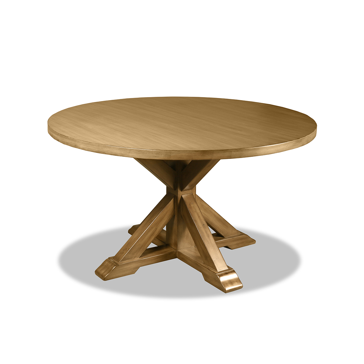 Wood Round Table.Frieda Reclaimed Wood Round Dining Table