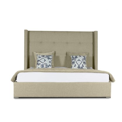 Stella Button Tufted Height Bed