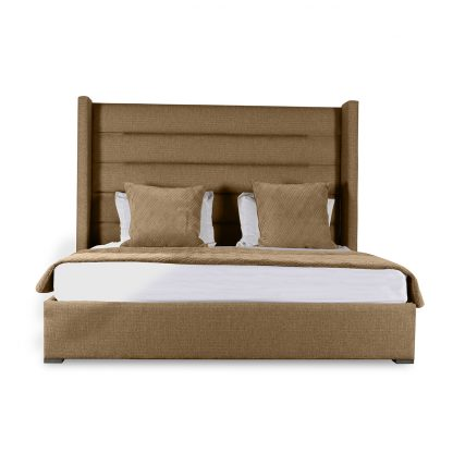 Stella Horizontal Channel Tufting Height Bed