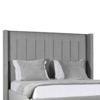 Stella Vertical Channel Tufting Height Bed