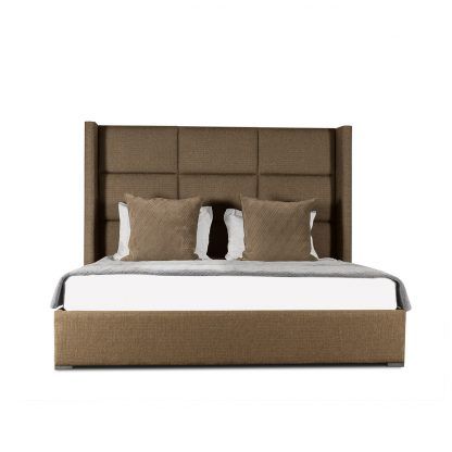 Stella Square Tufted Height Bed