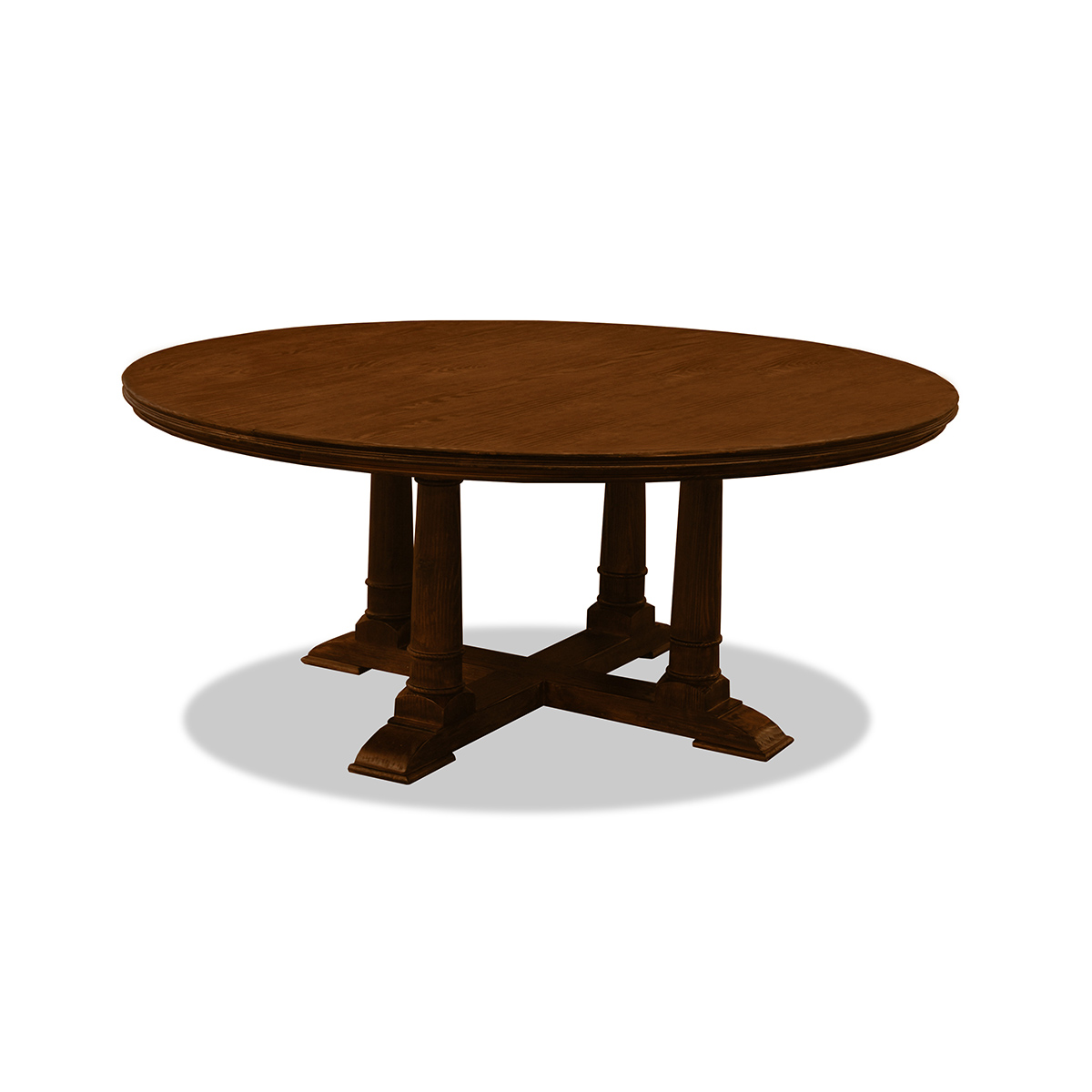 Royale Reclaimed Wood Round Dining Table