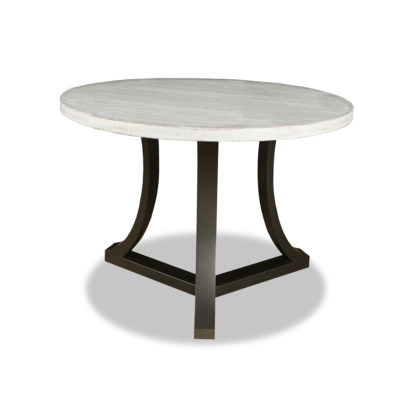 Isabella Wood Round Counter or Bar Height Table