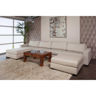 Wilton Modular U-Shape Double Chase Sectional
